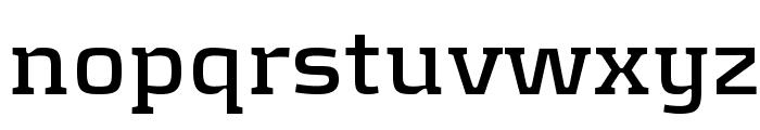 KontrapunktBold Font LOWERCASE