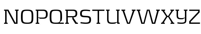 KontrapunktLight Font UPPERCASE