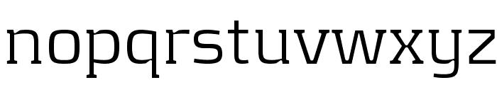 KontrapunktLight Font LOWERCASE