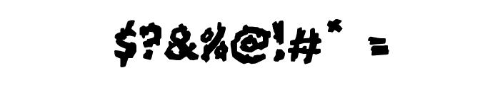 Kookaburra Font OTHER CHARS