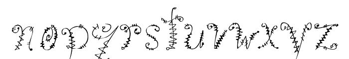 Kookie Font LOWERCASE