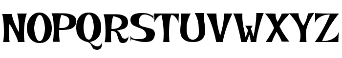 KookyKaps Font UPPERCASE