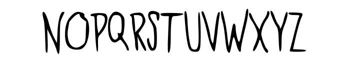 Kool_Katz Font UPPERCASE