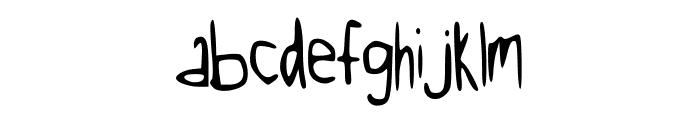 Kool_Katz Font LOWERCASE