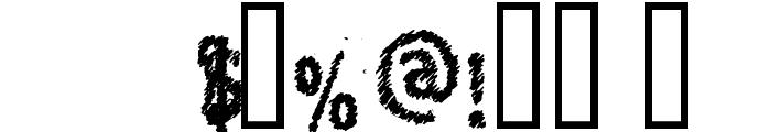 KopanyicaStrasse Font OTHER CHARS