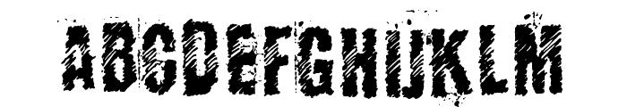 KopanyicaStrasse Font UPPERCASE