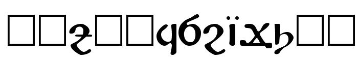 Koptos Regular Font UPPERCASE