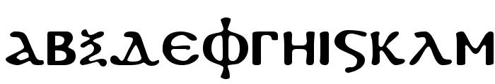 Koptos Regular Font LOWERCASE