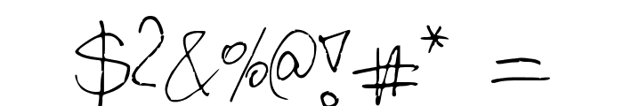 Kordulova Font OTHER CHARS