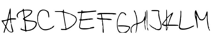 Kordulova Font UPPERCASE