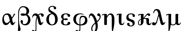 Korinthus Font LOWERCASE