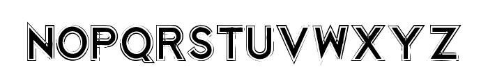 Korriban Regular Font UPPERCASE