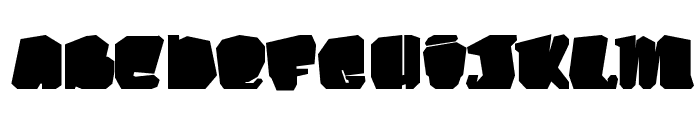 Kosmo Cat Font UPPERCASE