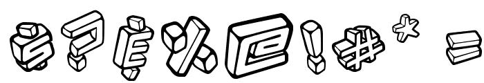 Kotak Font OTHER CHARS