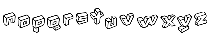 Kotak Font LOWERCASE