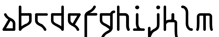 Koto RegularE Font LOWERCASE