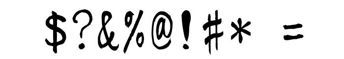 KouzanBrushFontGyousyoOTF Font OTHER CHARS