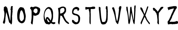 KouzanBrushFontOTF Font UPPERCASE