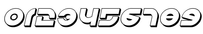 Kovacs 3D Italic Font OTHER CHARS