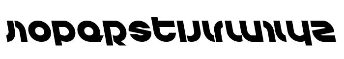 Kovacs Leftalic Font UPPERCASE