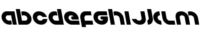 Kovacs Leftalic Font LOWERCASE
