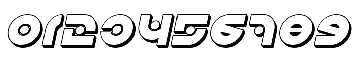 Kovacs Spot 3D Italic Font OTHER CHARS