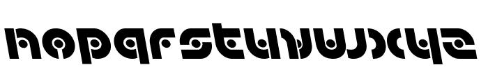 Kovacs Spot Leftalic Font LOWERCASE
