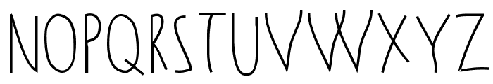Kowalski Font UPPERCASE