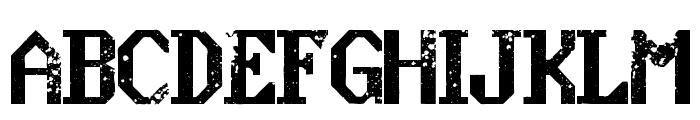 konquer Regular Font UPPERCASE