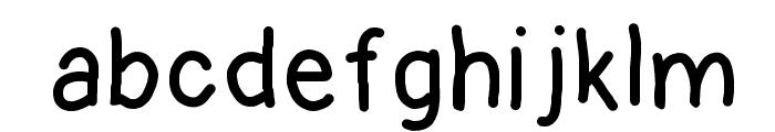 kontuto Font LOWERCASE