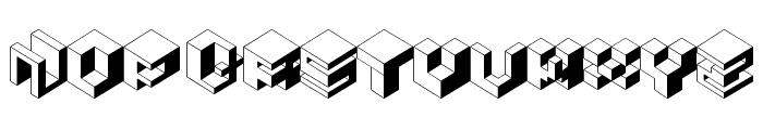 koobz Font UPPERCASE