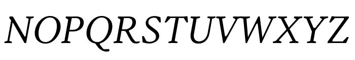 Korpus A10 Font UPPERCASE