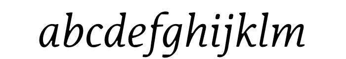 Korpus A10 Font LOWERCASE