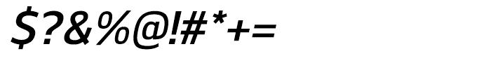 Kobern DemiBold Italic Font OTHER CHARS