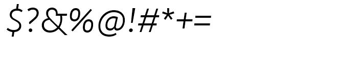 Kohinoor Light Italic Font OTHER CHARS
