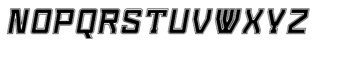 Konvexist Collegiate Oblique Font UPPERCASE