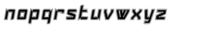 Konvexist Collegiate Oblique Font LOWERCASE