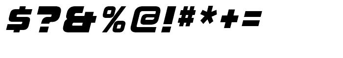 Korataki Extra Bold Italic Font OTHER CHARS