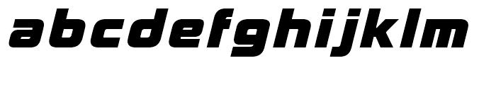 Korataki Extra Bold Italic Font LOWERCASE