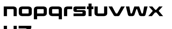 Korataki Regular Font LOWERCASE