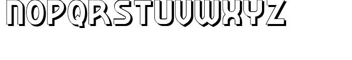 Korner Deli NF Shadow Font UPPERCASE