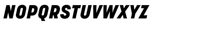 Korolev Heavy Italic Font UPPERCASE