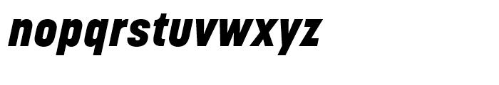 Korolev Heavy Italic Font LOWERCASE