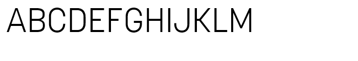 Korolev Light Font UPPERCASE