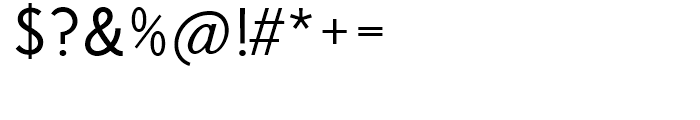 Korpus Sans Light Font OTHER CHARS