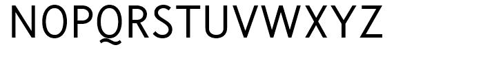Korpus Sans Light Font UPPERCASE