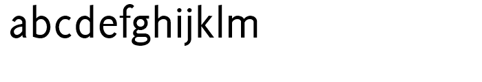Korpus Sans Light Font LOWERCASE