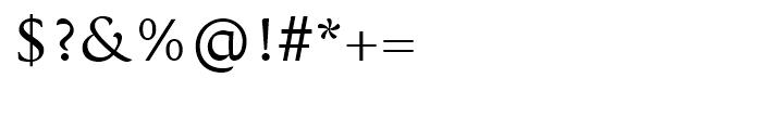 Koufiya Regular Font OTHER CHARS