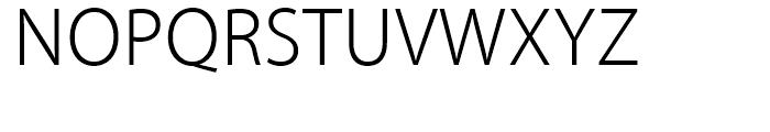 Kozuka Gothic Pr6N Light Font UPPERCASE