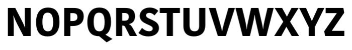 Kohinoor Latin Bold Font UPPERCASE